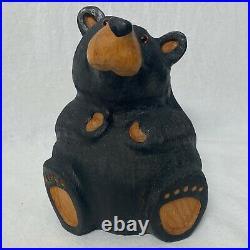 10 Big Sky Carvers Rosie Jeff Fleming Carved Western Pine Wood Statue Bearfoots