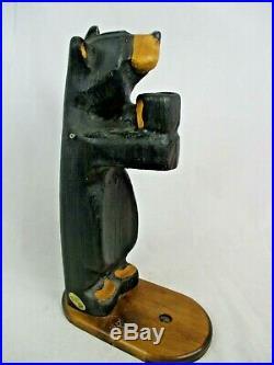 22 Big Sky Bears Jeff Fleming carved wood Bear figure carving Montana USA art