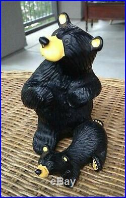 3 Lot Bearfoots Bears Big Sky Carvers Jeff Fleming Montana EUC