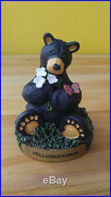 9 Piece Big Sky Carvers Jeff Fleming Bearfoots Black Bear Figurine Lot