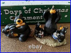 BEARFOOTS 12 Days of Christmas Ornaments Big Sky Carvers