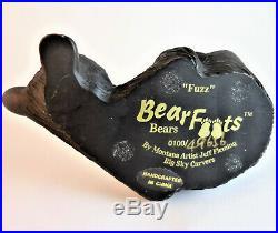 BEARFOOTS Bears FUZZ Figurine BIG SKY CARVERS JEFF FLEMING 0100/49656 Trout