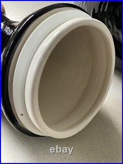 BEARFOOTS CERAMIC COOKIE JAR by JEFF FLEMING. BIG SKY CARVERS. CABIN KITCHEN