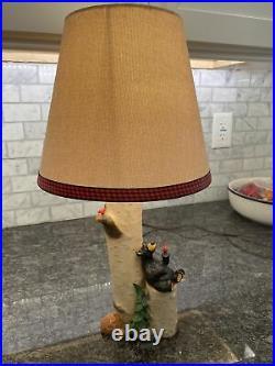 BEARFOOTS Jeff Fleming Big Sky Carvers Nature Lovers Lamp Works Super 2013 RARE
