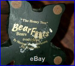 BEARFOOTS Jeff Fleming Big Sky Carvers THE HONEY TREE Standing Figurine