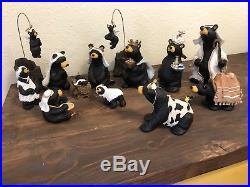 BEARTIVITY III BearFoots Bears Nativity Jeff Fleming Big Sky Carvers wisemen