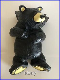 BIG SKY CARVERS BEARFOOTS RALPHIE BLACK BEAR 6 Signed by ARTIST JEFF FLEMMING