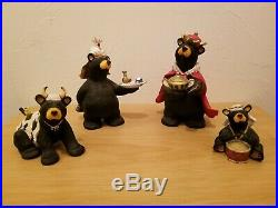 BIG SKY CARVERS Bear Foots BEARTIVITY III Figurines Bear Nativity Jeff Fleming