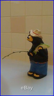 BearFoots REDNECK Big Sky Carvers Singing Tree Jeff Flemming Black Bear Figuri