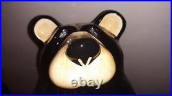 Bear Cookie Jar Bearfoot's Tabletop Big Sky Carver's by Jeff Fleming u9
