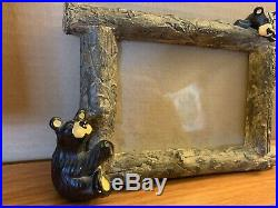 Bear Foots 3x5 Picture Frame By Montana Artist Jeff Fleming Big Sky Carvers