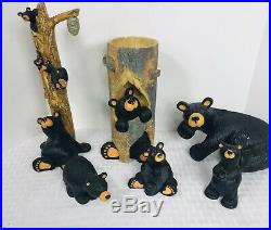 Bear Foots By Jeff Fleming Big Sky Carvers Lot Of 6