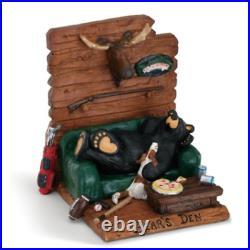 Bearfoots A Bear's Den Figurine Big Sky Carvers #3005080218 Black bear