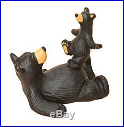 Bearfoots Bear Belly Bounce Mini Figurine Jeff Flemming Big Sky Carvers