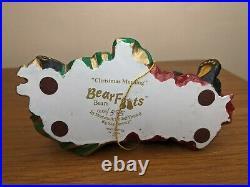 Bearfoots Bear Big Sky Carvers by Jeff Fleming Christmas Morning Figure