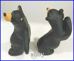 Bearfoots Bear Bookends Simon and Schuster Jeff Fleming Big Sky Carvers Resin