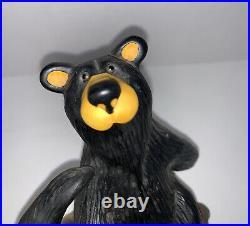 Bearfoots Bear Figurine Jeff Fleming Dancing Bear Two Step #88 Big Sky Carvers