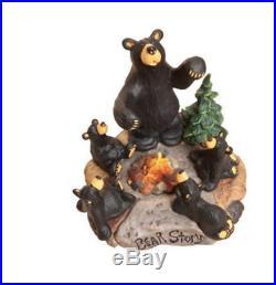 Bearfoots Bear Story Figurine Big Sky Carvers Demdaco #B5080002