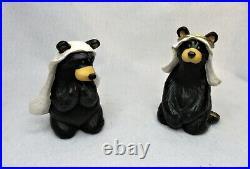 Bearfoots Bears Beartivity Big Sky Carvers 7 Piece Nativity Set