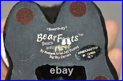 Bearfoots Bears Beartivity Sets I & II Nativity Jeff Fleming Big Sky Carvers