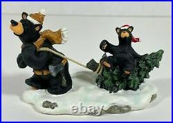 Bearfoots Bears Big Sky Carvers by Jeff Fleming Christmas Park MIB