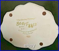 Bearfoots Bears By Artist Jeff Fleming The Skating Flemings Big Sky Carvers