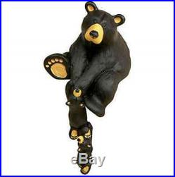Bearfoots Bears Helping Paw Figurine Big Sky Carvers Bear with Cubs