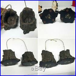 Bearfoots Bears Jeff Fleming Big Sky Carvers Beartivity Nativity 7 Pieces