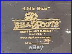 Bearfoots Bears by Jeff Fleming Little Bears Big Sky Carvers