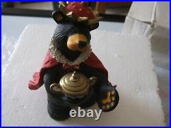 Bearfoots Big Sky Carvers 4 Beartivity III Nativity Figurines Original Box