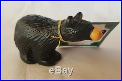 Bearfoots Big Sky Carvers Bear Figurine Matty 4 x 2.25 Original Tags