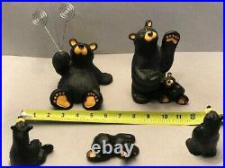 Bearfoots Big Sky Carvers Lot of 5 Bears Jeff Fleming