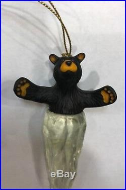 Bearfoots Big Sky Carvers Retired Ornament Lot NEW