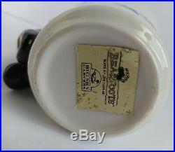 Bearfoots Black Bear Bathroom Set Soap Dispenser & Cup Big Sky Carvers Rare