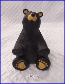 Bearfoots Black Bear Business Card Glasses Holder Handy Big Sky Carvers