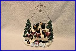 Bearfoots Figure Big Sky Carvers original box NEW Choir of Bears 50494