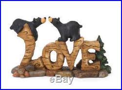 Bearfoots Love Bears Figurine Big Sky Carvers by Jeff Fleming