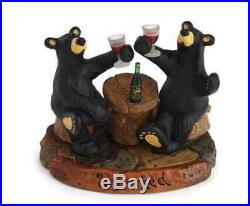 Bearfoots Uncorked Figurine Jeff Fleming Big Sky Carvers # 3005080179