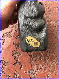 Big Sky Bear Carving Jeff Fleming Montana