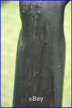 Big Sky Bears Carved Wood Black Bear Paper Towel Holder 21 Pine Cabin Hunting