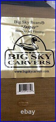 Big Sky Bears Jasper By Jeff Fleming Carved Wood Coat Rack With Four Hooks