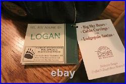 Big Sky Bears Logan Big Sky Carvers Solid Western Pine Crafted In Montana