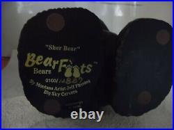 Big Sky Bears Solid Wooden Statue Jeff Fleming, Big Sky Carvers SHER BEAR #ED