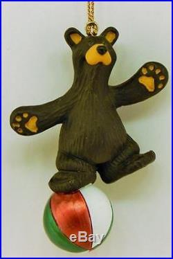 Big Sky Carver Bearfoots Bears Balance Bear Christmas Ornament Free Shipping