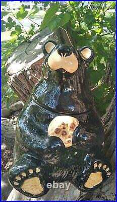 Big Sky Carver Bears By Jeff Fleming Cookie Jar New no box no tag