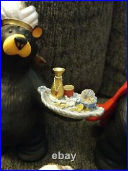Big Sky Carver Beartivity III Figurines #50479 Bearfoots Jeff Fleming Christmas