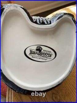 Big Sky Carver Black Bears By Jeff Fleming Cookie Jar Mint Condition Snacks
