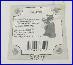 Big Sky Carvers BEARFOOTS AL PINE Bear Collection Jeff Fleming SKIING BEAR 7