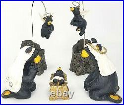 Big Sky Carvers BEARFOOTS Beartivity I Jeff Fleming Christmas Nativity Bears