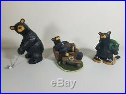 Big Sky Carvers BEARFOOTS Hugh Uncle Patrick Tiger Golf Couch Jeff Fleming Lot